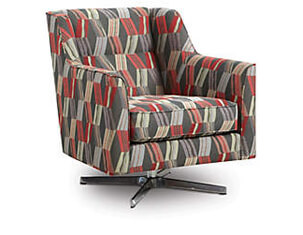 Ambassador Swivel Accent Chair