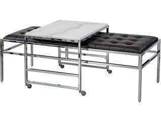 Medline Upholstered Bench, , large