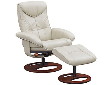 Adler Reclining Chair and Ottoman, , large