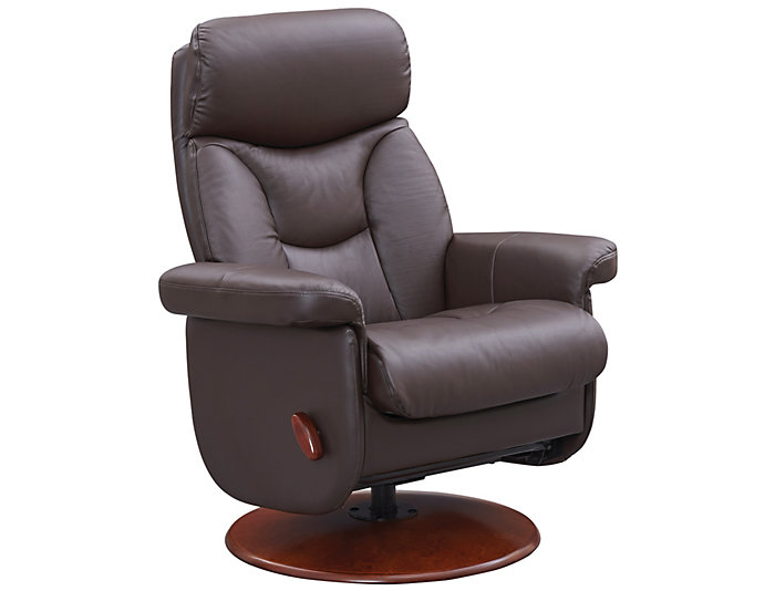 Colin Glider Recliner, Brown, , large