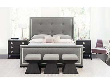 Perfect Solutions Upholstered Bed Queen, , large