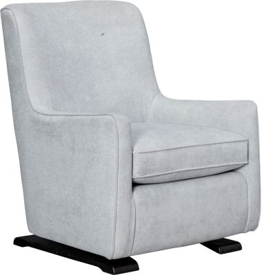 Coral Swivel Glider Chair, Grey, swatch