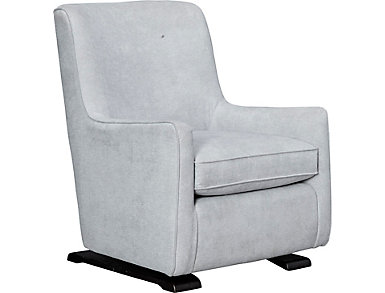 Coral Swivel Glider Chair, Grey, large