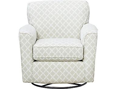 Kaylee Sage Swivel Glider Chair, Sage, large