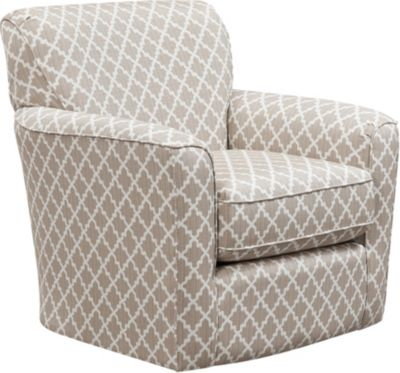 Kaylee Swivel Glider Chair, Beige, swatch