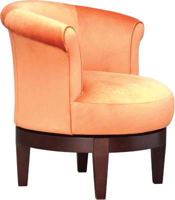 ... Attica II Accent Chair, Orange, Swatch