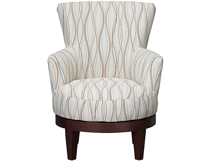 Justine Ii Swivel Chair Art Van Home