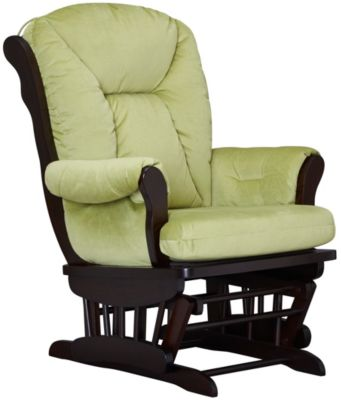 Chelsea II Glider Rocker, Green, swatch