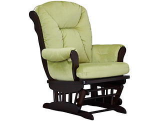 Chelsea II Glider Rocker, Green, large
