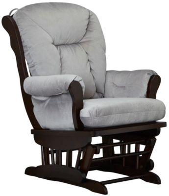 Chelsea II Glider Rocker, Grey, swatch