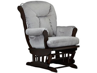Chelsea II Glider Rocker, Grey, large