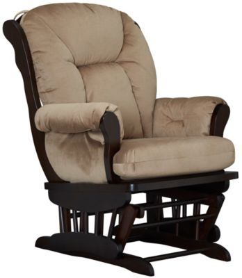 Chelsea II Glider Rocker, Brown, swatch