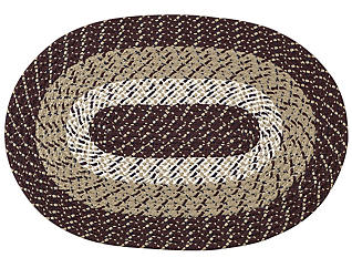 Afton Burgundy Stripe 5x8 Rug, , large