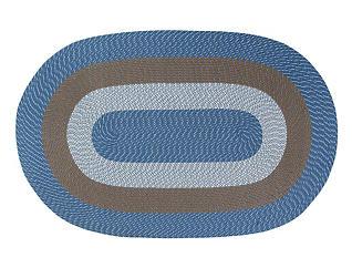Afton Chambray Stripe 5x8 Rug, , large