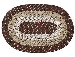 Afton Brown Stripe 8x11 Rug, , large
