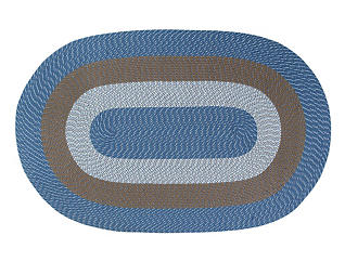 Afton Chambray Stripe 8x11 Rug, , large