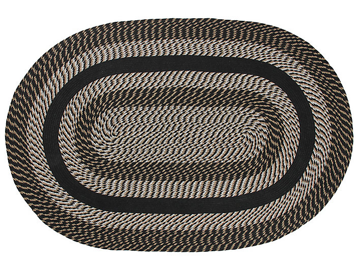 Colby Black 4x6 Rug, , large