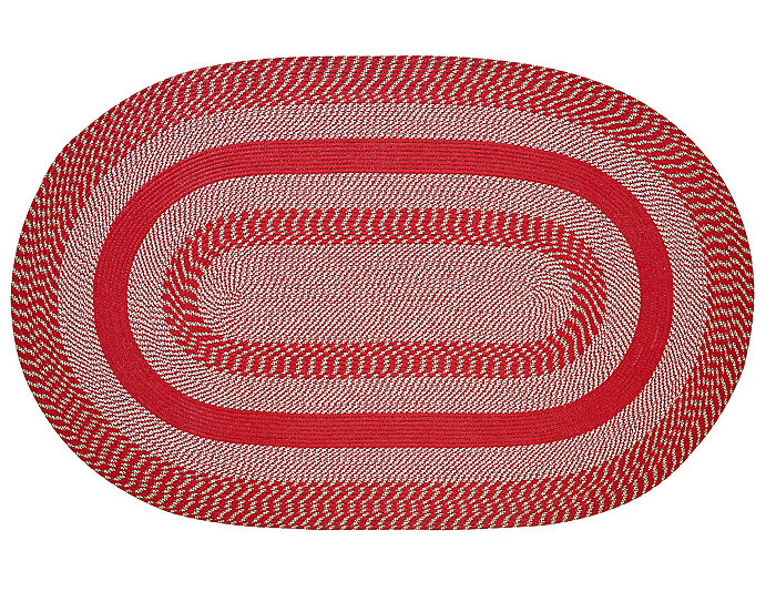 Colby Red 4x6 Rug, , large