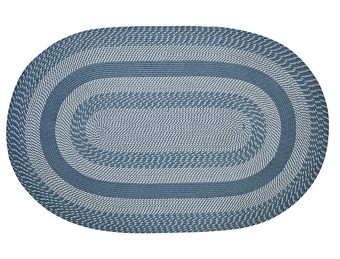 Colby Blue 4x6 Rug, , large