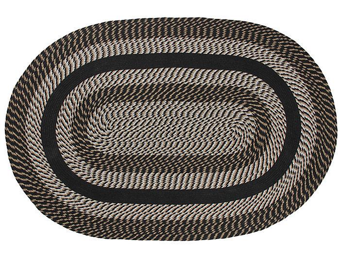 Colby Black 5x8 Rug, , large