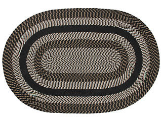 Colby Black 5x8 Rug, , large
