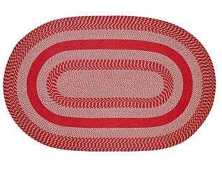 Colby Red 5x8 Rug, , large