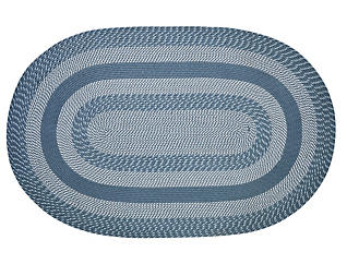 Colby Blue 5x8 Rug, , large
