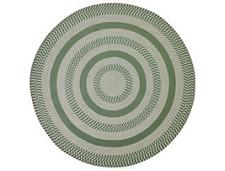 Colby 8  Round Sage Rug, , large