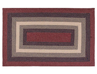 WOODBRIDGE BRAIDED RUG 27X45, , large