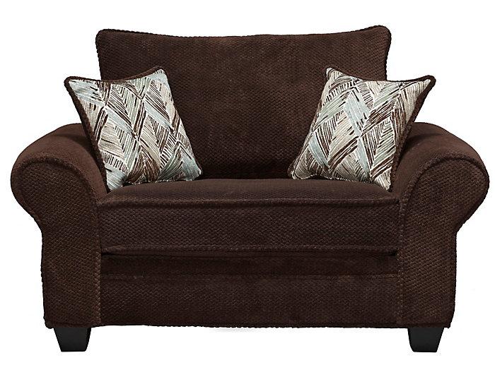 Hudson Chair, Chocolate