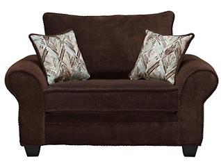 Hudson Chair, Chocolate, large