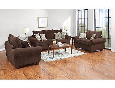 Hudson Chocolate Chair, Chocolate, large