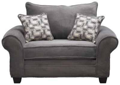 Hudson Chair, Granite, swatch