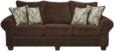 Hudson Chocolate Sofa