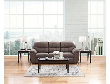 Mason II Gunmetal Sofa, , large