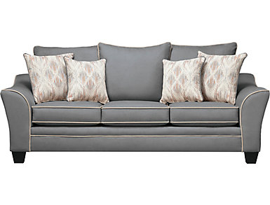 Logan Sofa, Grey, , large