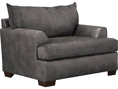 Newport Chair, Grey, , large