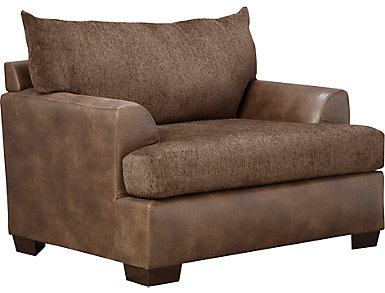 Newport Chair, Brown, , large