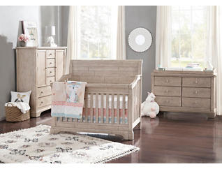 Davos Natural 4 in 1 Convertible Crib, , large