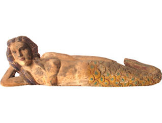 Reclining Sea Maiden, , large