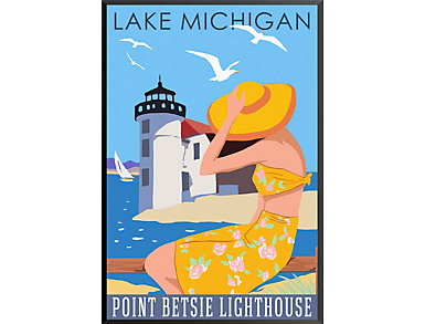Point Betsie Lighthouse-Giclee, , large