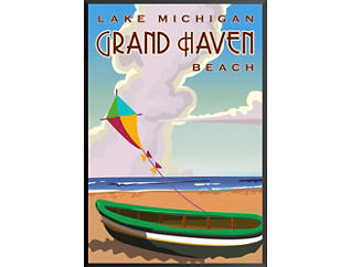 Grand Haven Beach - Giclee, , large