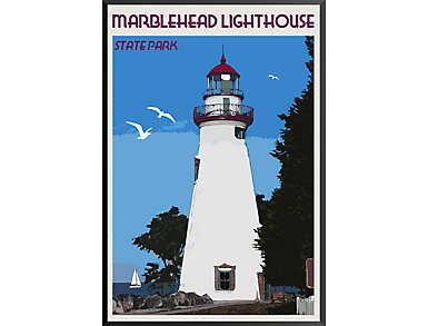 Marblehead Lighthouse Poster, , large