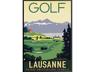 Golf Lausanne Poster, , large
