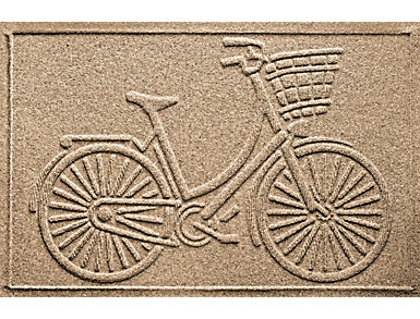 2x3' Nantucket Bicycle Doormat, , large