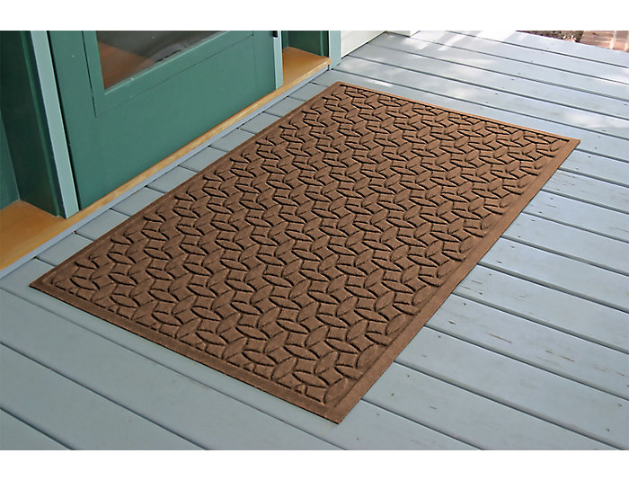 Ellipse Estate Dark Brown Area Rug 3 X