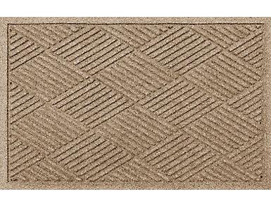 2'x3' Diamonds camel Doormat, , large