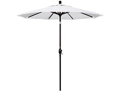 Kapolei 7.5' White Umbrella, , large