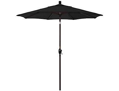 Kailua 7.5' Black Umbrella, , large