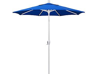 Mililani 7.5' Blue Umbrella, , large